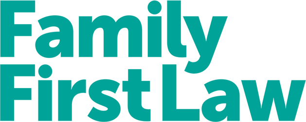 Family First Law Logo in the Footer